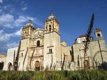 kościelny De Domingo Mexico Oaxaca santo templo obrazy stock