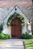 kościelny drzwi zdjęcie royalty free