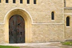 kościelny drzwi obrazy stock