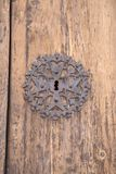 Kościelny Drzwiowy kędziorek, Pollenca, Majorca Fotografia Royalty Free