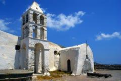 kościelny gree wyspy kythera stary zdjęcie stock