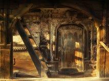 kościelny hasłowy drewno obraz royalty free