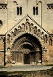 Kościelny hasłowy drzwi Zdjęcia Royalty Free