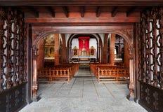 Kościelny Iglesia De Nuestra de los angeles Asuncion Zdjęcia Royalty Free
