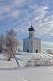 kościelny intercesi nerl Russia zdjęcie royalty free