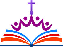 Kościelny logo Zdjęcie Stock