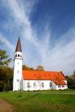kościelny luthetan stary sigulda obraz stock