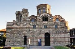 Kościelny Pantocrator Christos w Nessebar, Bułgaria zdjęcia stock