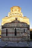 Kościelny Pantocrator Christos w Nessebar, Bułgaria obraz royalty free