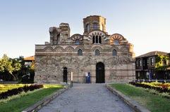 Kościelny Pantocrator Christos w Nessebar, Bułgaria fotografia royalty free