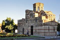 Kościelny Pantocrator Christos w Nessebar, Bułgaria obrazy royalty free