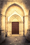 Kościelny portal Obraz Royalty Free