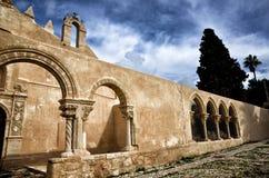 Kościelny San Giovanni w Siracusa, Włochy Obrazy Royalty Free