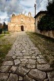 Kościelny San Giovanni w Siracusa, Włochy Obraz Stock