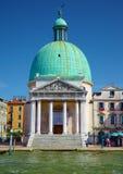 Kościelny San Simeone flecik w Wenecja, Włochy Obrazy Royalty Free
