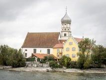 Kościelny Sanct Georg Wasserburg fotografia stock