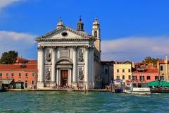 Kościelny Santa Maria del Rosario w Wenecja, Włochy obrazy stock