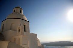 kościelny santorini Zdjęcie Stock