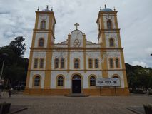 kościelny stary kolor żółty Obrazy Royalty Free
