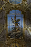 Kościelny sufit bazylika St Michael archanioł Obraz Stock
