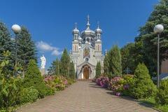 kościelny Ukraine europejczycy piękny kościół w Ukraine na słonecznym dniu Zdjęcie Stock