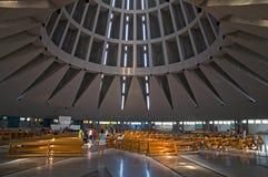 kościelny wewnętrzny nowożytny Fotografia Royalty Free