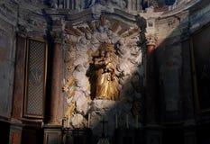 kościelny wnętrze Zdjęcia Royalty Free