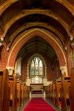 Kościelny wnętrze obrazy stock