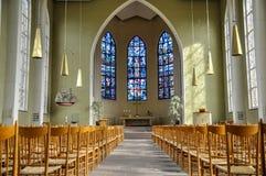 Kościelny wnętrze Fotografia Royalty Free