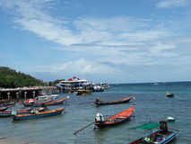 Ko陶海岛在泰国 免版税图库摄影