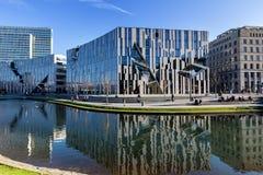 Ko - Bogen的看法 Ko-Bogen是一个大规模办公室和 图库摄影