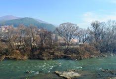 Końcówka rzeka Zdjęcie Stock
