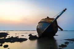 Kościec antyczny statek Fotografia Stock