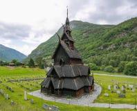 kościelna borgund klepka fotografia royalty free