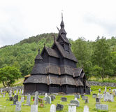 kościelna borgund klepka Fotografia Stock
