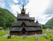 kościelna borgund klepka zdjęcie royalty free