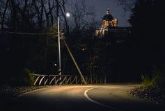kościelna droga Zdjęcia Royalty Free