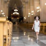 Kościelna dziewczyna Fotografia Royalty Free