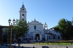 Kościelna fasada od buenos Aires, Argentyna Obrazy Stock