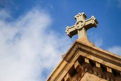 Kościelna iglica Zdjęcia Royalty Free