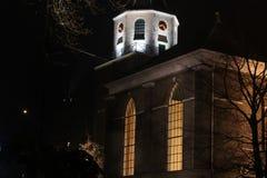 kościelna noc Zdjęcie Stock