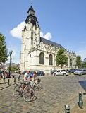 Kościelna Notre-Dame De Los angeles Chapelle Obraz Stock