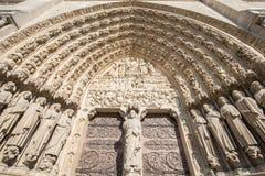 kościelna Paniusia De Notre Paris elementy projektu dekoracji ilustracji wzory prostych paris Obraz Royalty Free