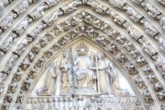 kościelna Paniusia De Notre Paris elementy projektu dekoracji ilustracji wzory prostych Paris france Fotografia Stock