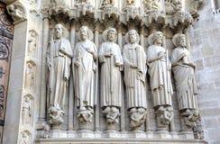 kościelna Paniusia De Notre Paris elementy projektu dekoracji ilustracji wzory prostych Paris france Zdjęcie Stock