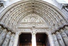 kościelna Paniusia De Notre Paris elementy projektu dekoracji ilustracji wzory prostych Paris france Zdjęcie Royalty Free