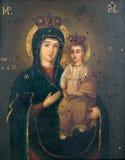 kościelna pradawnych ikony Fotografia Stock