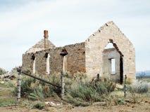 Kościelna ruina Obraz Royalty Free