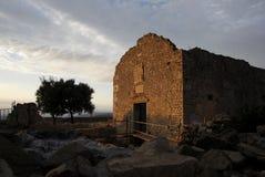 Kościelna ruina Fotografia Royalty Free