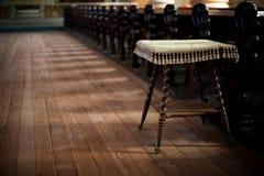 kościelna stolec Zdjęcie Royalty Free
